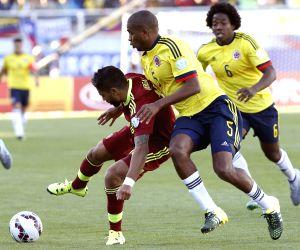 Colombia V/S Venezuela - Copa America 2015 Group C soccer match