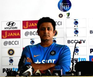 Anil Kumble's press conference