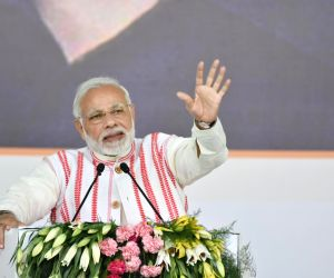 Congress has done politics over poverty: Modi