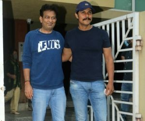 Randeep Hooda and Kamal Jain snapped after meeting in juhu