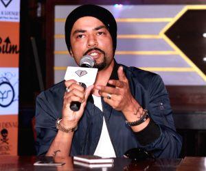 Rapper Bohemia's press conference