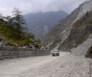 NEPAL RASUWA ROAD SECTION COMPLETION CHINA BORDER