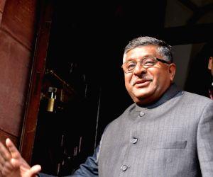 Ravi Shankar Prasad admitted to AIIMS