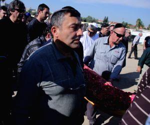 ISRAEL RAMLA TEL AVIV STABBING SPREE VICTIM FUNERAL