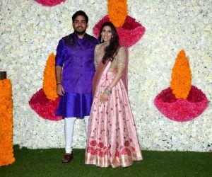 Mukesh Ambani, Nita Ambani host Diwali party