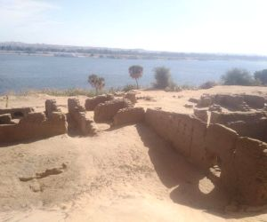 Remains of Roman fort unearthed in Egypt's Aswan