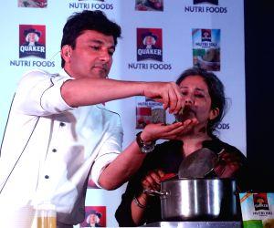 Vikas Khanna during a promotional programme