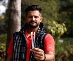 Free Photo: Renowned cricketer Suresh Raina comes forward to support blood cancer patients