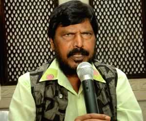 Ramdas Athawale's press conference