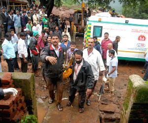 Rescue operation at Maharashtra landslide site