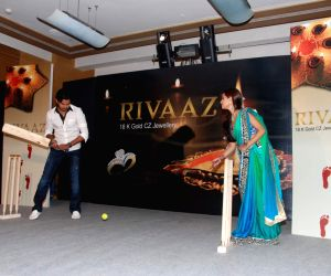 Ria Sen and Srisanth promotes Gitanjali's Rivaaz collection at Grand Hyatt.