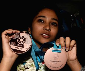Mehuli shoots two gold medals at 18th KSS Memorial tourney