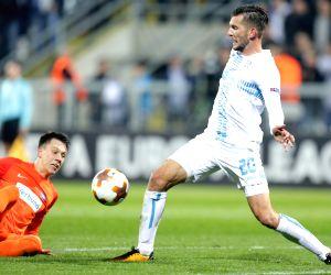 CROATIA-RIJEKA-UEFA EUROPA LEAGUE-HNK RIJEKA VS AUSTRIA WIEN Source : Xinhua