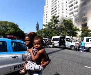 BRAZIL RIO DE JANEIRO SOCIETY EVICTION