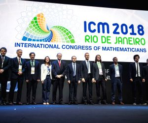 BRAZIL-RIO DE JANEIRO-SCIENCE-INTERNATIONAL CONGRESS OF MATHEMATICIANS