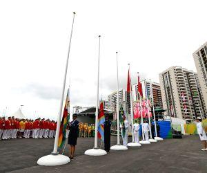 BRAZIL RIO DE JANEIRO OLYMPICS CHINA FLAG RAISING CEREMONY