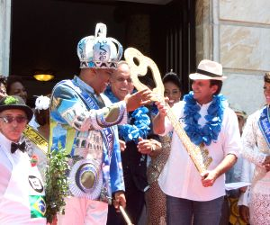 BRAZIL-RIO DE JANEIRO-CARNIVAL 2015-OPENING CEREMONY