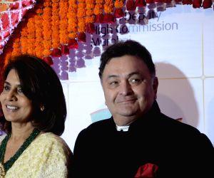 Rishi Kapoor and Neetu Singh. (Photo: IANS)