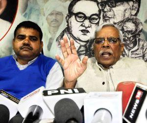 Shivanand Tiwari's press conference