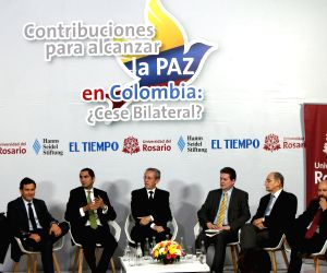 COLOMBIA BOGOTA FARC POLITICS FORUM