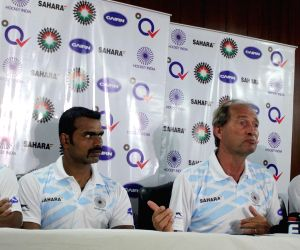 Indian men's hockey press conference