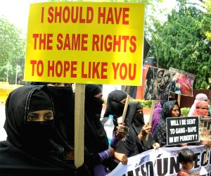 Rohingya Muslims' demonstration