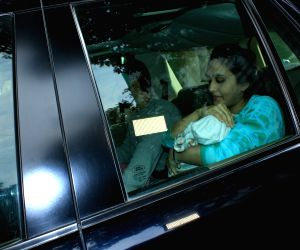 Rohit Dhawan's wife and newborn daughter discharged from hospital