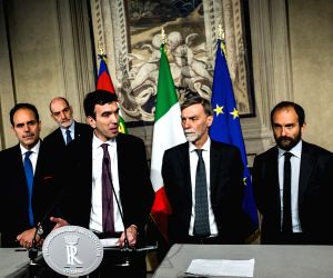 ITALY ROME GOVERNMENT PRESIDENT CONSULTATION