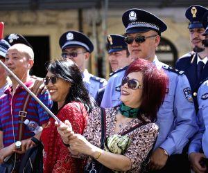 ITALY ROME CHINA POLICE JOINT PATROLS