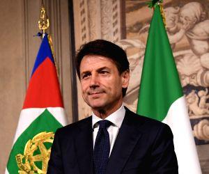 ITALY ROME GIUSEPPE CONTE PM DESIGNATE