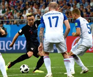 World Cup: Croatia beat Iceland to top Group D