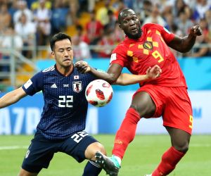 RUSSIA-ROSTOV-ON-DON-2018 WORLD CUP-ROUND OF 16-BELGIUM VS JAPAN