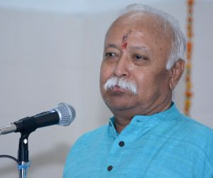 Bhagwat favours early construction of Ram temple, disapproves politics of power