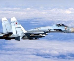 Russian fighter intercepts US reconnaissance plane
