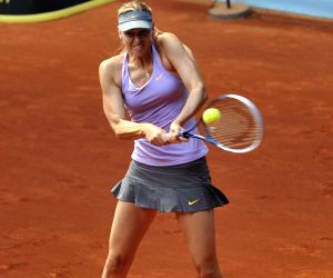 Madrid (Spain): WTA Madrid Open Women's Singles - Maria Sharapova vs Samantha Stosur