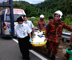 MALAYSIA-SABAH-ROAD COLLAPSE