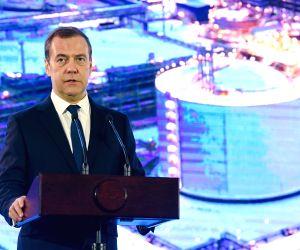 RUSSIA-SABETTA-YAMAL LNG PROJECT-DMITRY MEDVEDEV