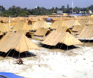 Sagar Island (West Bengal): Ganga Sagar Mela preparation