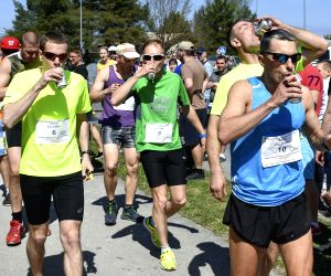 ESTONIA-SAKU-BEER MILE RUN