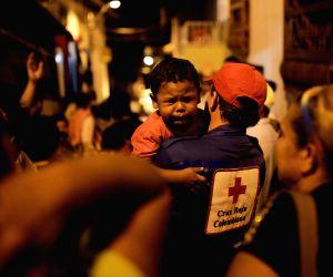 COLOMBIA SALGAR LANDSLIDE AFTERMATH