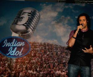 Salim Merchant at Indian Idol finalists press meet at ITC Grand Maratha.
