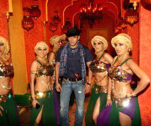 Salman Khan shoots for Bigg Boss Season 4.
