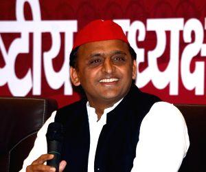 Akhilesh Yadav's press conference