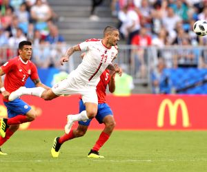 Serbia, Switzerland face-off in crunch Group E clash