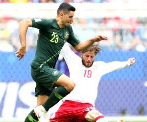 Australia hold Denmark 1-1