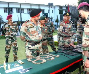 Lt Gen K J Singh at Samba Military Station