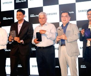 Samsung launches India's first tablet with 'iris recognition