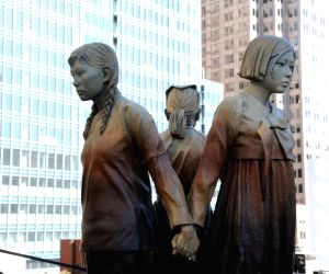 U.S.-SAN FRANCISCO-COMFORT WOMEN MONUMENT-UNVEILING