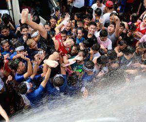 PHILIPPINES-SAN JUAN CITY-ANNUAL WATTAH-WATTAH FESTIVAL