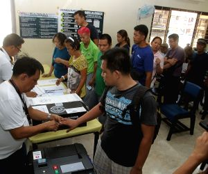PHILIPPINES-SAN JUAN CITY-PRESIDENTIAL ELECTION